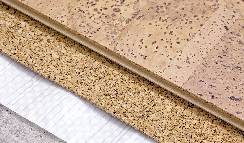 Kentuckiana Cork Flooring Installation