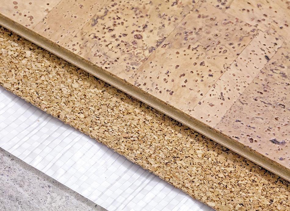 Carpet Connection-Capps Cork Flooring Installation